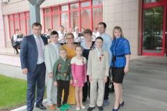 Влад и Женя День Победы с Лукойлом